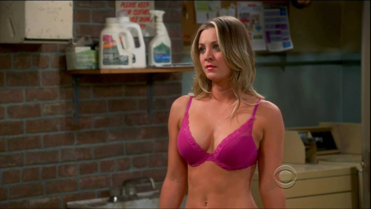 Kaley Cuoco Bra Scene Video Sexy