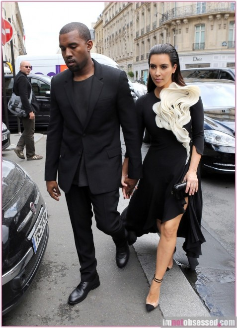 Kim Kardashian Kanye West Fashion