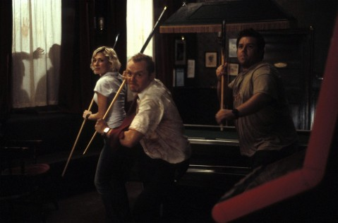 Picture Of Kate Ashfield Nick Frost And Simon Pegg In Shaun Of The Dead Large Picture