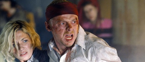 Still Of Kate Ashfield And Simon Pegg In Shaun Of The Dead Jessica Hynes