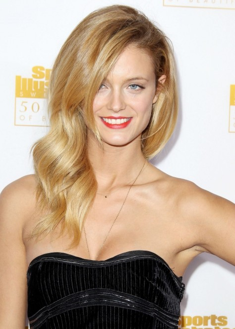 Kate Bock At Si Swimsuit Issue Th Anniversary Celebration In Hollywood Tv