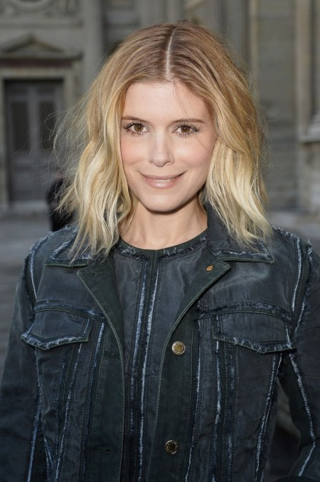 Kate Mara Arrives At Louis Vuitton Fashion Show In Paris