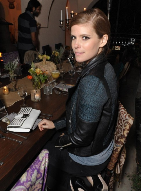 Kate Mara At Spinmedia Supper Club Party In Los Angeles