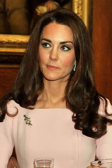 Kate Middleton Dyes Hair Glossy Dark Brown Hue For Winter Hair