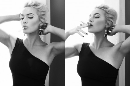 Kate Winslet April Harpers Bazaar