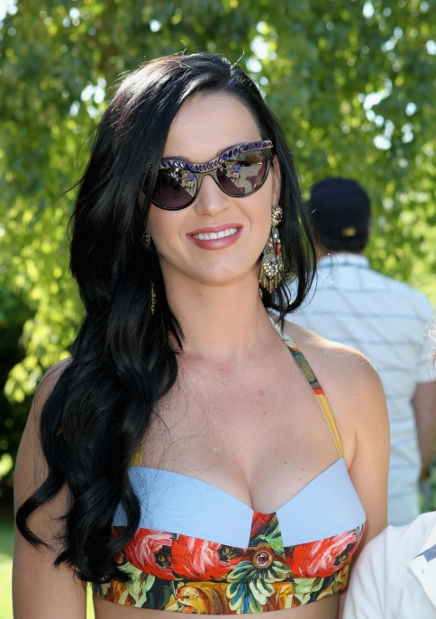 Katy Perry At Lacoste Live Pool Party At Coachella