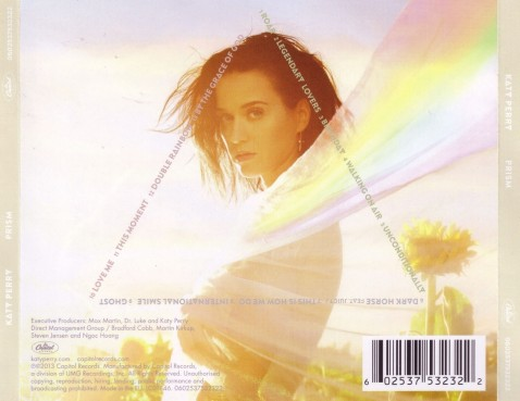 Katy Perry Prism Back Prism