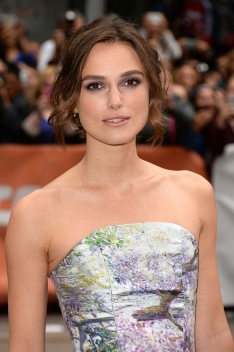 Keira Knightley At Can Song Save Your Life Premiere At Tiff In Toronto