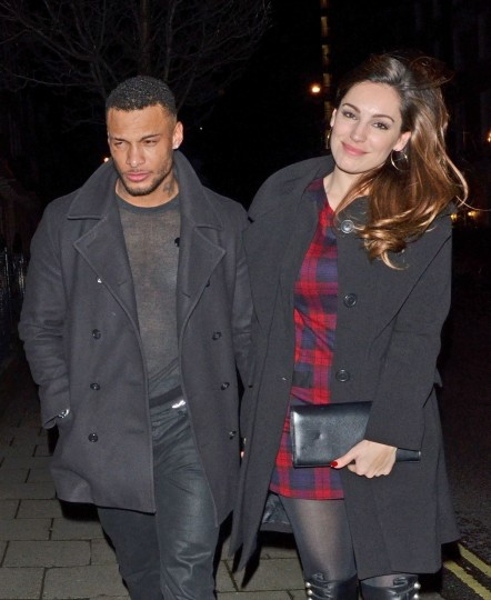 Kelly Brook And David Mcintosh Leaves Mahiki Nightclub In London And David Mcintosh