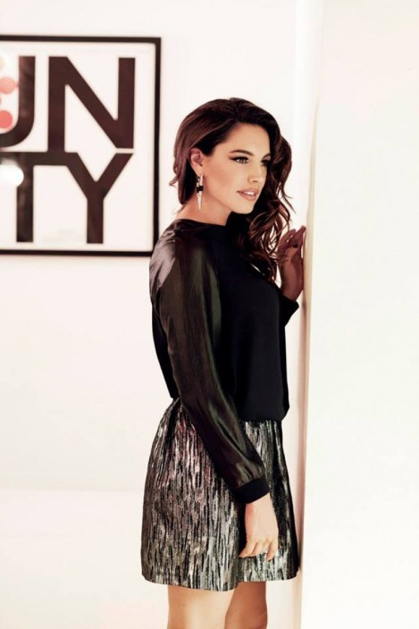 Kelly Brook For New Look Autumn Winter Campaign