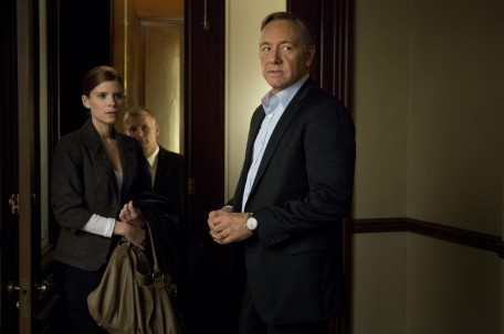 Picture Of Kevin Spacey Chance Kelly And Kate Mara In House Of Cards Large Picture House Of Cards