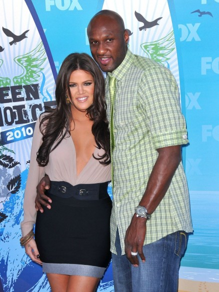 Khloe Kardashian And Lamar Odo And Lamar