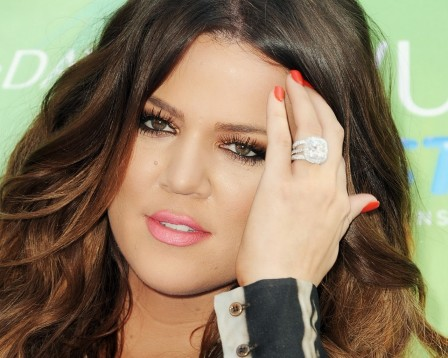 Khloe Kardashian Diamond Ring Famous Tv