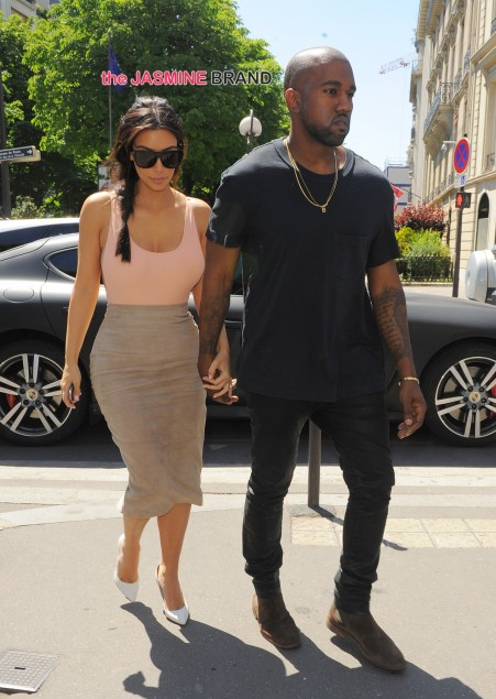 Kim Kardashian And Kanye West Head To Lunch At Avenue Paris The Jasmine Brand