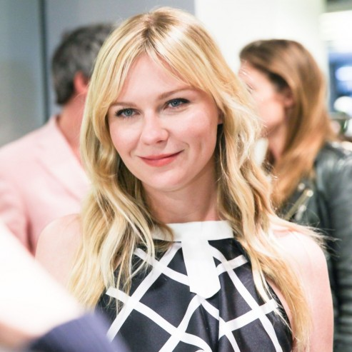 Kirsten Dunst At Rodarte In New York