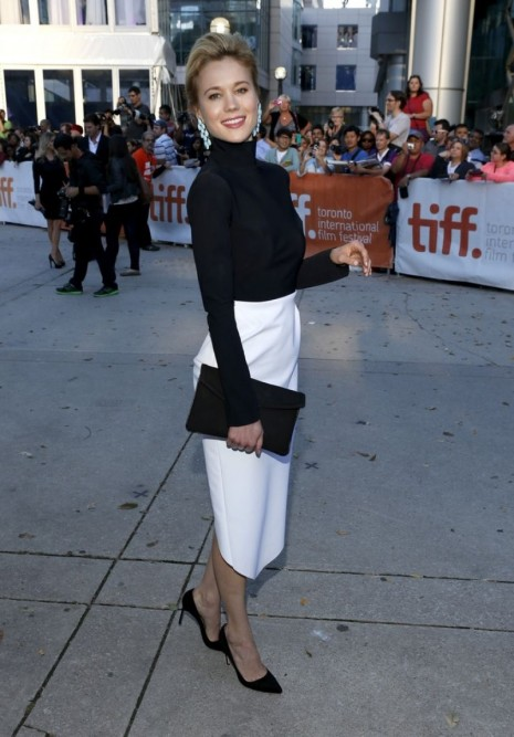 Kristen Hager At The Right Kind Of Wrong Premiere At Tiff In Toronto