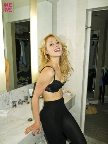 Kristen Hager In Me In My Place Photoshoot March