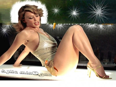 Kylie Bminogue Bhot Hot