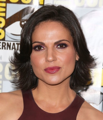 We Loved Lana Parrilla Berry Lipstick While Press Line