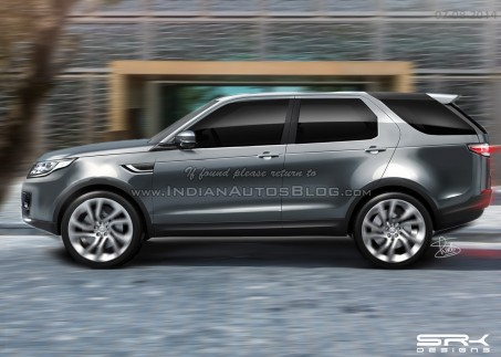 Production Land Rover Discovery Sport Rendering Discovery Sport