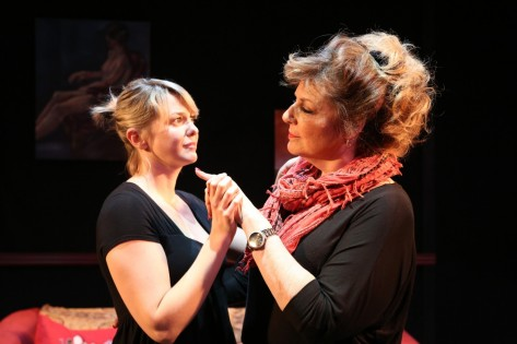 Larisa Oleynik And Caroline Aaron Star In The La Premiere Of Be Good Little Widow By Bekah Brunstetter And Directed By Sara Botsford At The Noho Arts Center In North Hollywood