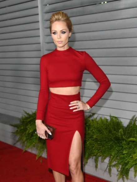 Laura Vandervoort At Maxim Hot Women Of Celebration In West Hollywood Supergirl Costume