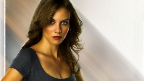 Lauren Cohan Hot Wallpapers