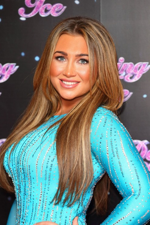 Lauren Goodger At Dancing On Ice Photocall In London Sexy