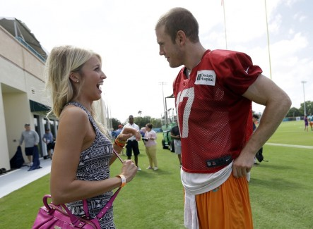 Last Chance Before Being Replaced As Nfl It Girl Lauren Tannehill Pg Feet