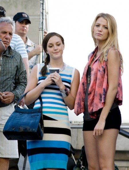 Leighton Meester And Blake Liv And Blake Lively