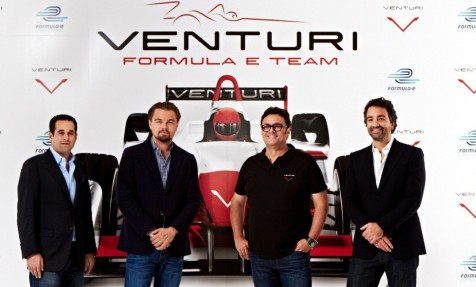 Leonardo Dicaprio Backs Formula Team