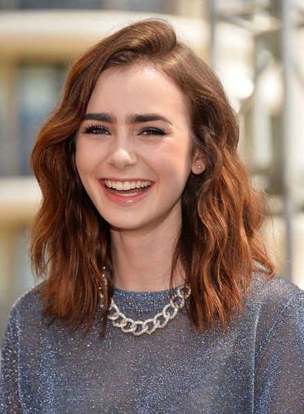 Lily Collins At The Mortal Instruments City Of Bones Meet And Greet In Glendale Mortal Instruments