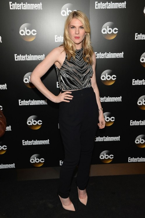 Lily Rabe At Entertainment Weekly Abc Upfronts Party Portia
