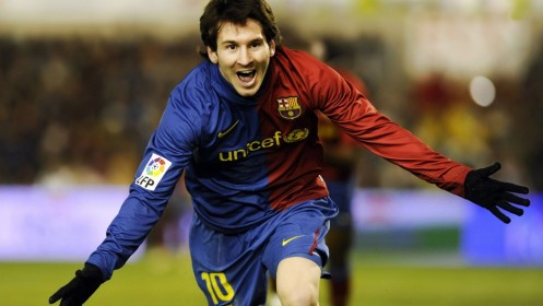 Lionel Messi In Happy Mode Hd Wallpapers