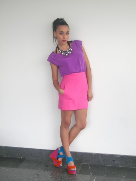 Colour Blocking Trend High Street Styled By Lisa Boyle