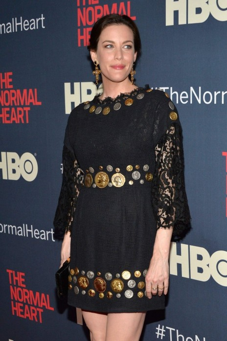 Liv Tyler At The Normal Heart Premiere In New York