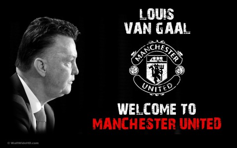 Welcome To Manchester United Louis Van Gaal Wallpaper Sport