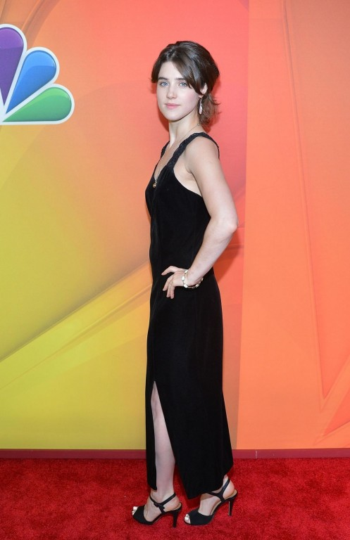 Lucy Griffiths At Nbc Upfront Presentation In New York Beach