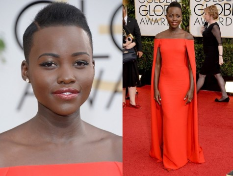 Lupita Nyongo In Ralph Lauren Bellanaija Style January Bellanaija Lupita Nyong Golden Globes