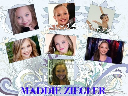 Maddie Ziegler Collage Dance Moms Wallpaper