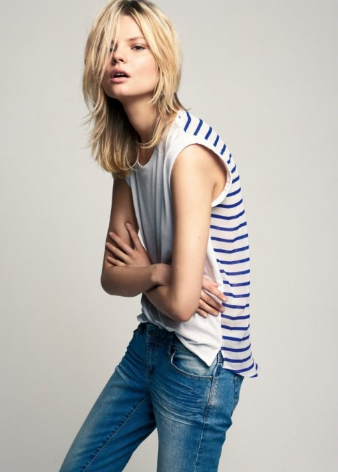 Magdalena Frackowiak For Mango Summer Runway