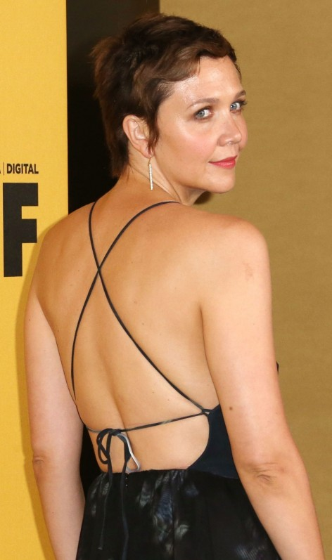 Maggie Gyllenhaal At Women In Film Crystal Lucy Awards