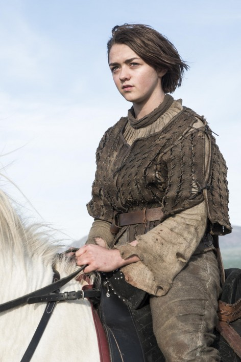 Game Of Thrones Season Finale Maisie Williams