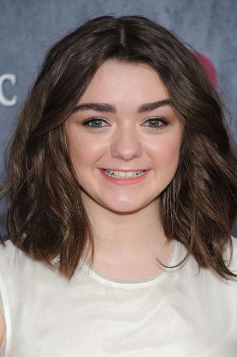 Maisie Williams Game Of Thrones Ny Premiere