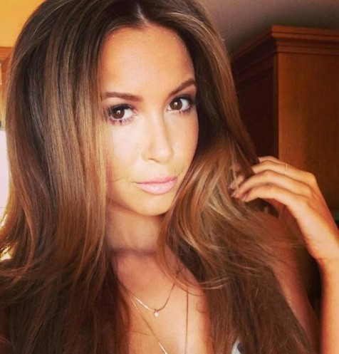 Germany Argentina Wags Faceoff Mandy Capristo