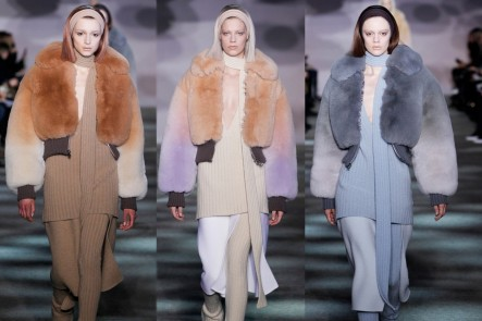 Marc Jacobs Fall Winter Ombre Fur Jacket