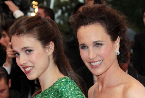 Andie Macdowell And Margaret Qualley At Event Of Th Se Desqueyroux Large Picture