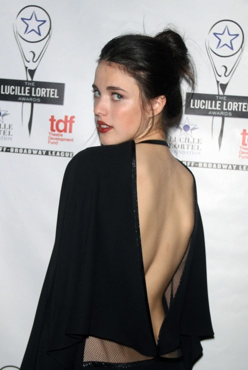 Margaret Qualley Th Annual Lucille Lortel Awards In Nyc