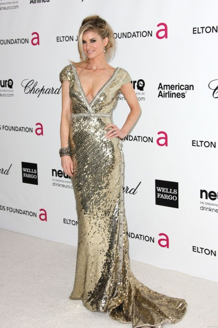 Marisa Miller At Elton John Aids Foundation Academy Awards Viewing Party In Beverly Hills