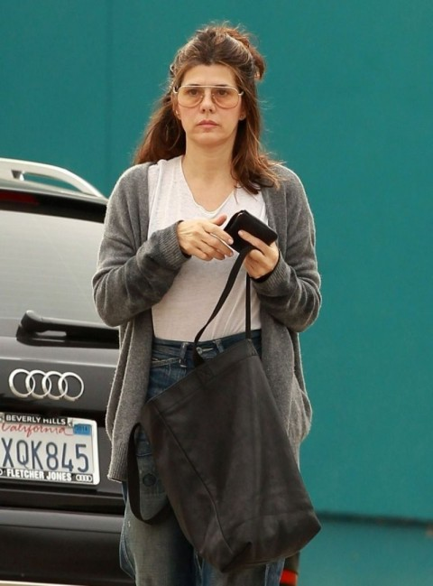 Marisa Tomei Out In La